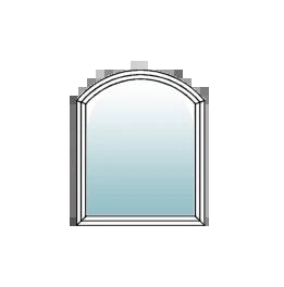 Segmentbogenfenster Stichbogenfenster