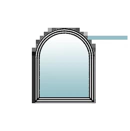 Bogenfenster kaufen rundbogenfenster aus kunstoff holz und aluminium - Fenster mit rundbogen ...