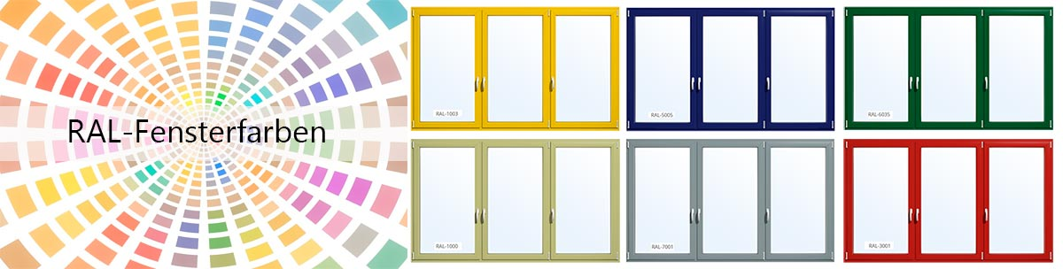 ral fensterfarben fenster mit ral farben gestalten und kaufen. Black Bedroom Furniture Sets. Home Design Ideas