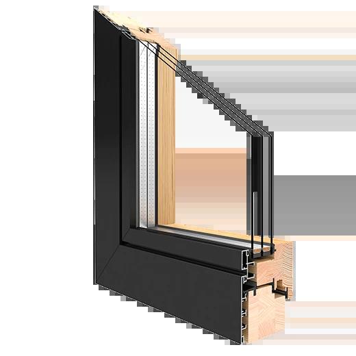 holz-aluminium fenster kiefer duoline88 mm, Design ideen