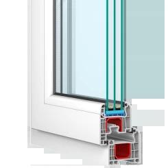 PVC Fensterprofil Iglo 5