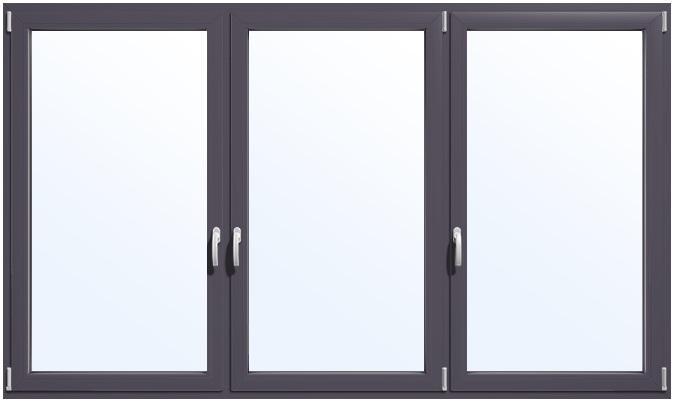 Fenster anthrazitgrau ral 7016 konfigurieren und kaufen - Moderne fensterformen ...