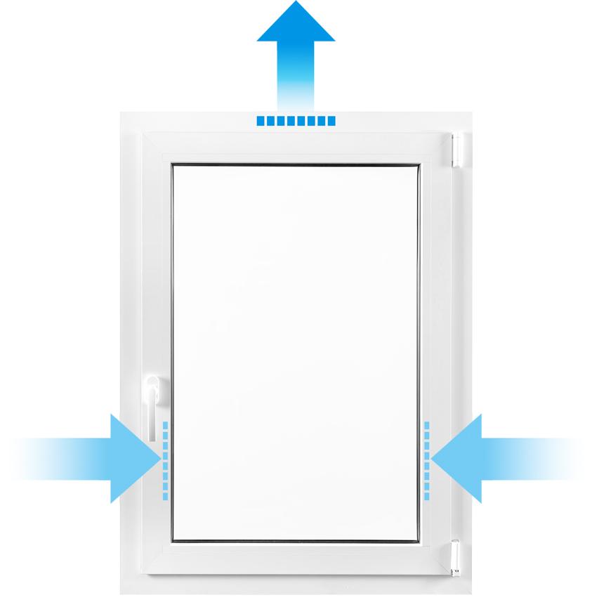 Turbo Fensterfalz-Lüfter als kostengünstige Lüftungsanlage gegen JR92