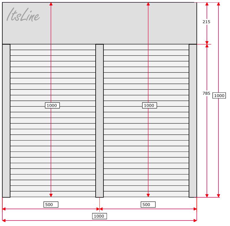 Extrem Rollladen Schritt für Schritt Messanleitung AJ07