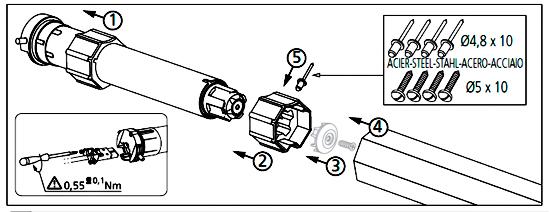 Bevorzugt Rollladenmotor installieren - Detaillierte Montageanleitung für UA06