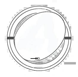 Rundes Schwingfenster