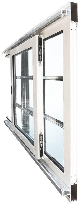 Aluminium-Schiebefenster