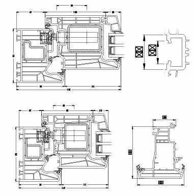 Schüco LivIngs Nebeneingangs- und Haustüren mit Stahlverstärkung ermöglichen den optimalen Halt
