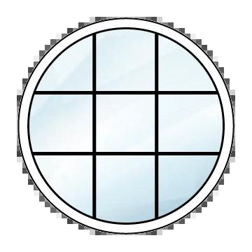 Super Runde Fenster – Preisvorteil beim Online Fensterkauf EY02