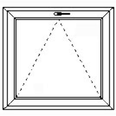 kunststofffenster 1 teilig kipp salamander. Black Bedroom Furniture Sets. Home Design Ideas