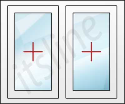 rechts 100x150 cm Kunststofffenster 6 Kammern | wei/ß Dreh-Kipp-Fenster 1000x1500 mm