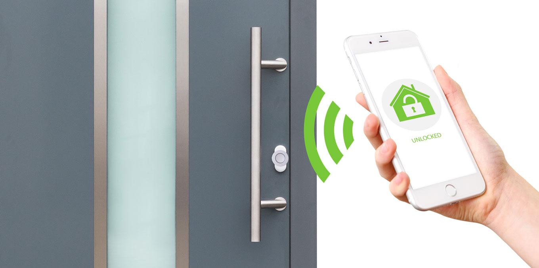Elektrisches Schloss Für Die Haustür sichere elektronische schließsysteme für alutüren