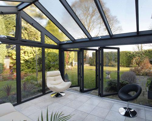 Gut bekannt Wintergarten - Aluminiumsysteme mit intergrierten Fenstern und Türen HB21