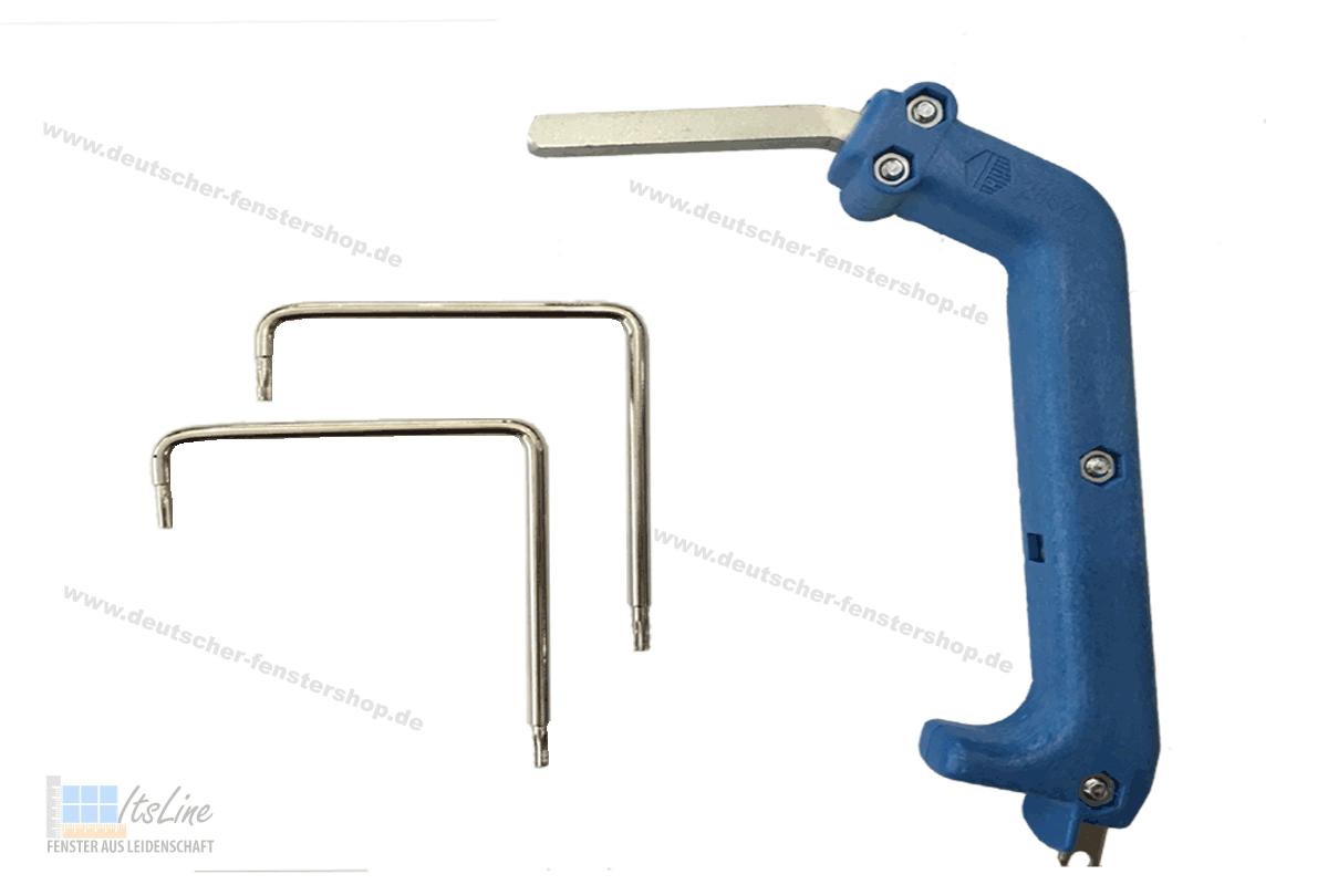 MACO Montagegriff Schlüssel zum ausheben von Bolzen